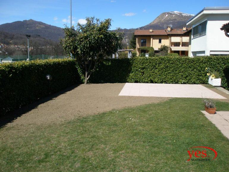 Creazione di piazzola pavimentata – Lugano 2017