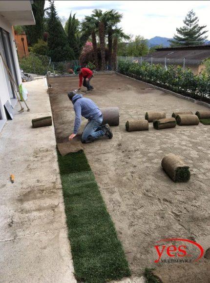 Realizzazione tappeto verde – Cadro 2016 1