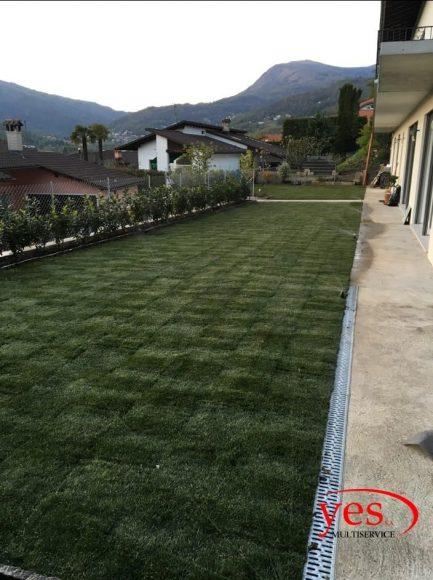 Realizzazione tappeto verde – Cadro 2016 2